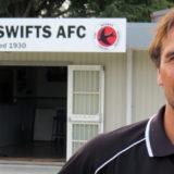 Parsonage to coach Swifts